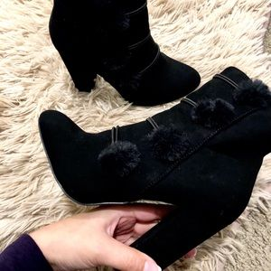 Just Fab Block Heel Boots